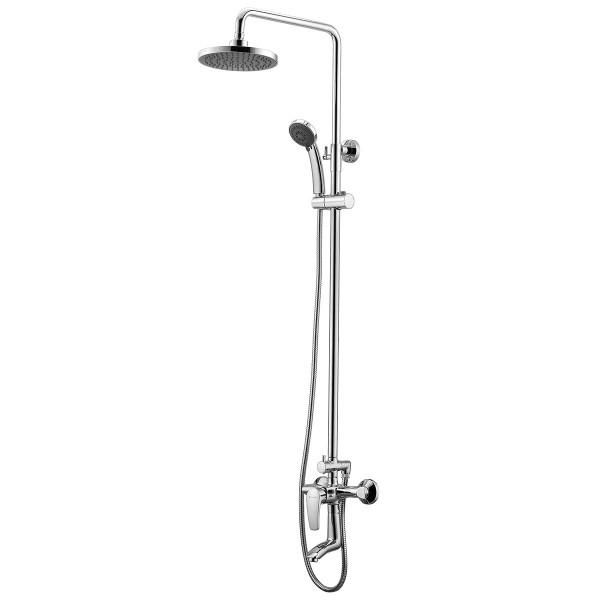 Душевая система для ванны с изливом Imprese Jesenik T-10140