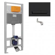 Комплект инсталляции 3 в 1 (черная клавиша) Imprese i8122B