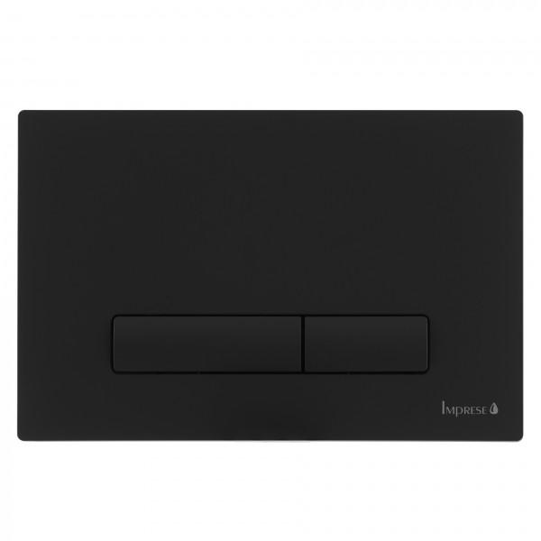 Клавиша смыва Imprese PANI i9040ВOLIpure черный матовый