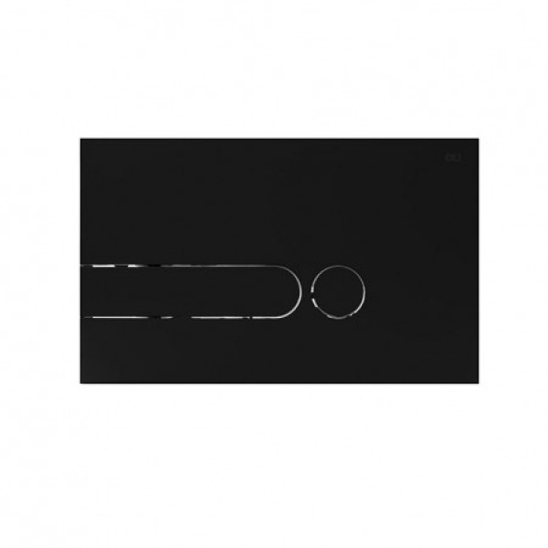 Клавиша смыва IMPRESE Oli I-Plate 670002 антрацит