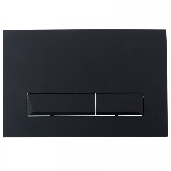 Клавиша смыва Imprese Pan Laska Black Soft Touch I8040B
