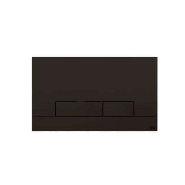 Клавиша смыва IMPRESE Oli Narrow Soft-Touch 152942 черная