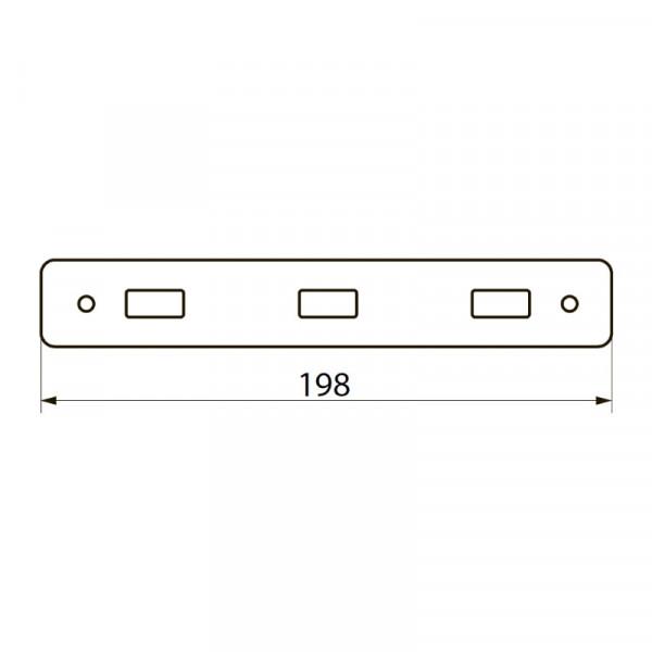 Планка на 3 ключка Imprese 100111
