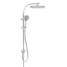 Система душевая без смесителя (верхний (250мм) и ручной душ(120 мм) 3 режима, шланг) Imprese T-15082