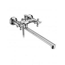 Смеситель для ванны двухвентильный с длинным изливом Imprese Ralsko 35240 NEW