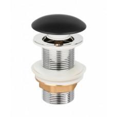 Донный клапан черный Invena SC-B1-CBP