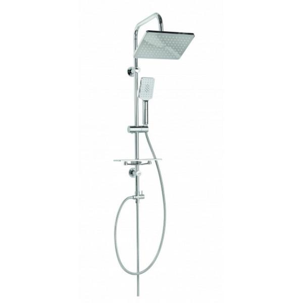 Душевой гарнитур с верхним душем Invena Nyks AU-32-001