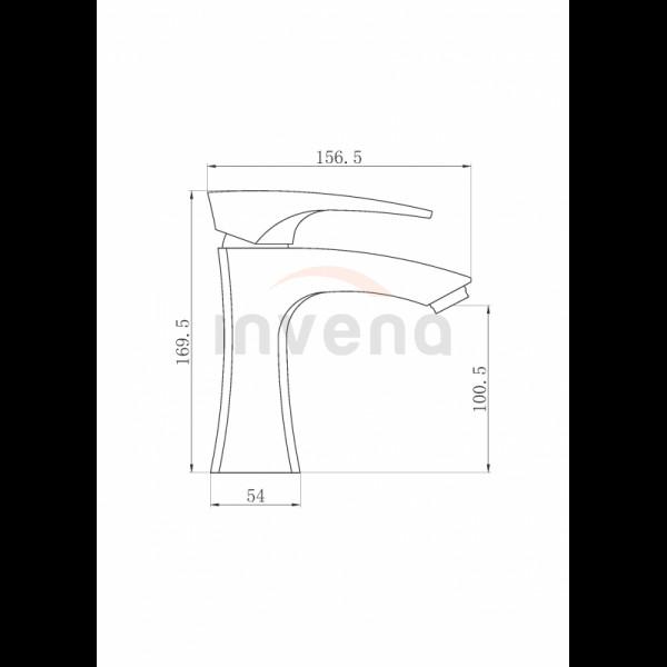 Смеситель для раковины Invena Nikea BU-07-001