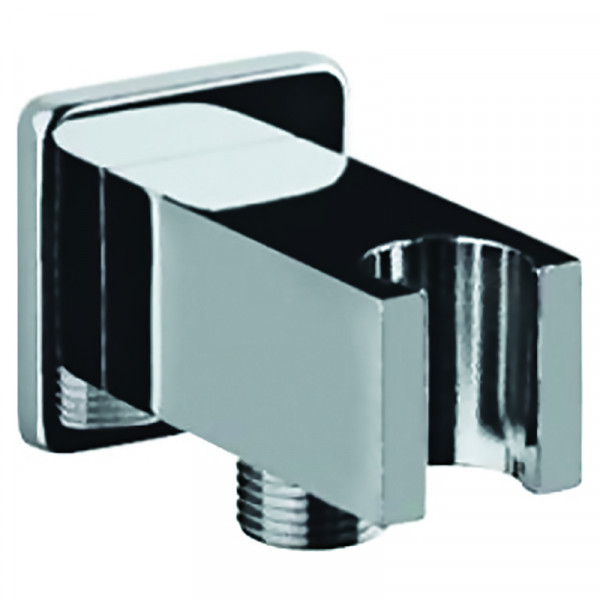 Подключение шланга с держателем квадратное Jaquar SHA-CHR-566S