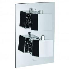 Смеситель для ванны скрытого монтажа с термостатом Jaquar Kubix KUB-CHR-35671HF