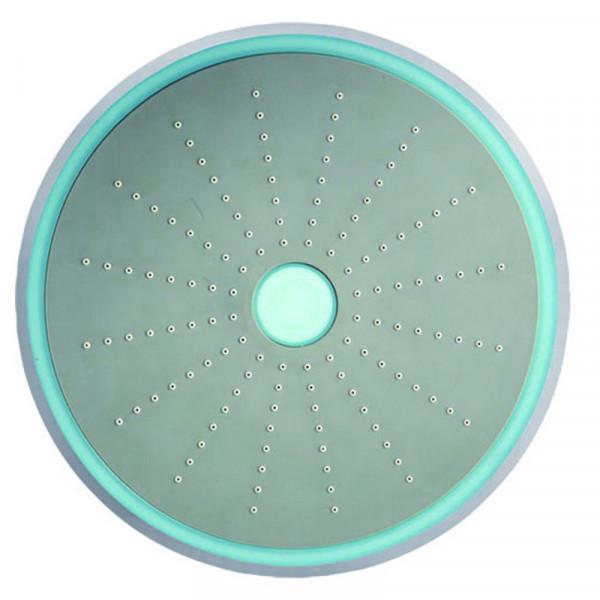 Верхний душ круглый 234 мм Jaquar LED-подсветка OHS-CHR-1741