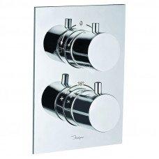Смеситель для ванны скрытого монтажа с термостатом Jaquar Florentine FLR-CHR-5671HF
