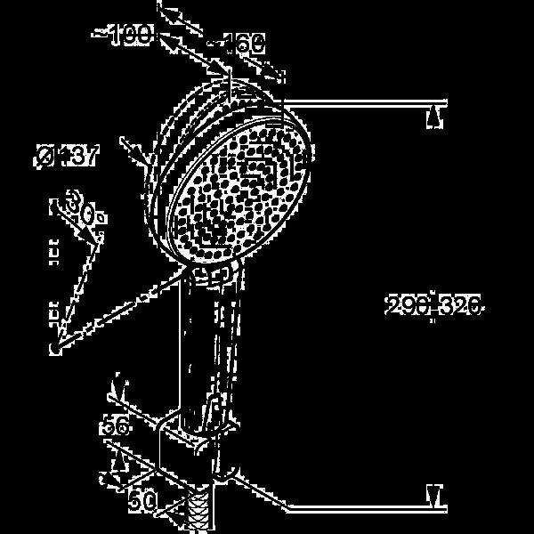 Душевой гарнитур 1S Kludi A-QA 661500500
