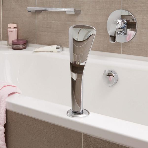 Душевой гарнитур 1S монтаж на борт ванны Kludi Fizz 6705105