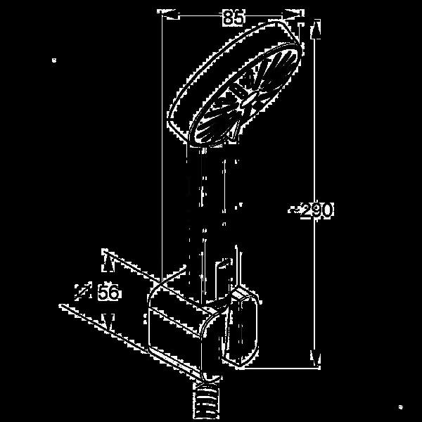 Душевой гарнитур Kludi A-QA 656500500