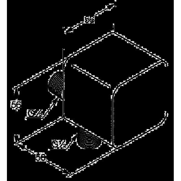 Соединение для шланга Kludi A-QA 655430500