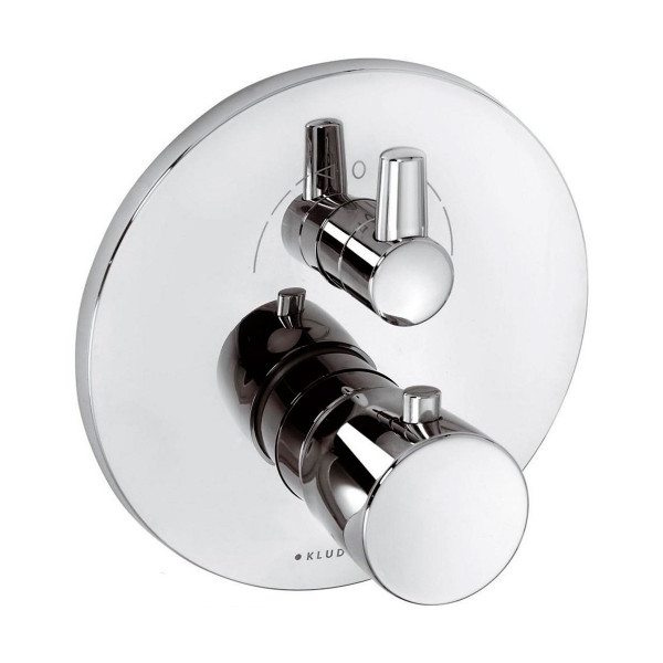 Внешняя часть смесителя для ванны с термостатом скрытого монтажа Kludi Balance 528300575