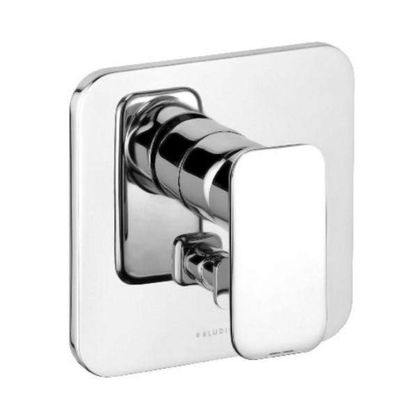 Внешняя часть смесителя для ванны скрытого монтажа с переключателем Kludi E2 496500575