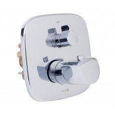 Внешняя часть смесителя для ванны с термостатом скрытого монтажа Kludi Ameo 418300575
