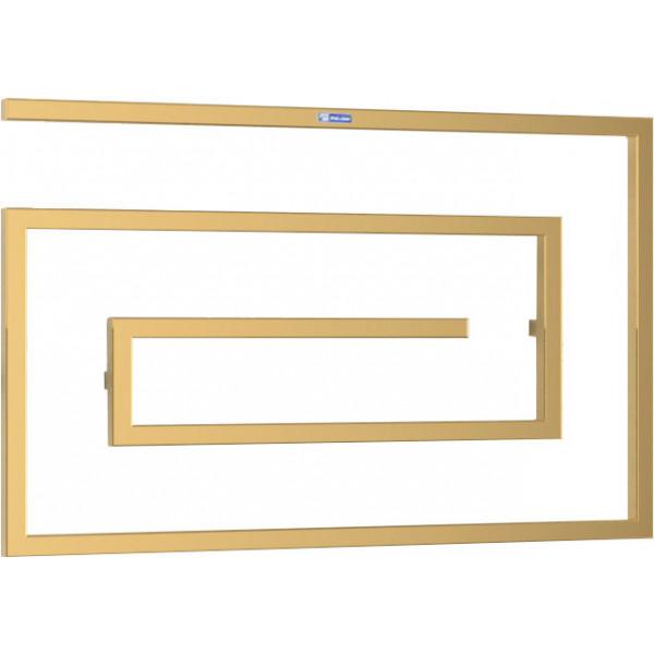 Полотенцесушитель PALADII GRAZIOSO 1000х600х65 мм (КВ124G) золото