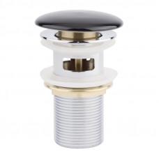 Донный клапан Qtap F009-1 BLA Pop-up с переливом