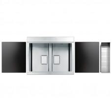 Кухонная мойка Apell Sinphonia Satin PD862IKITB