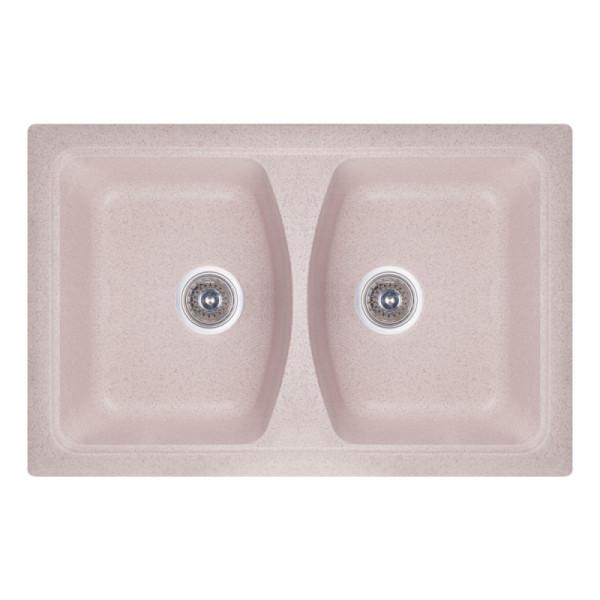 Кухонная мойка двойная Fosto7950kolor 806 (FOS7950SGA806)