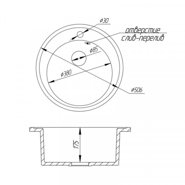 Кухонная мойка FostoD510kolor 420 (FOSD510SGA420)