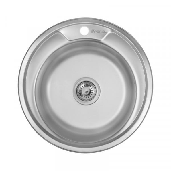 Кухонная мойка Imperial 490-А Decor (IMP490А06DEC)