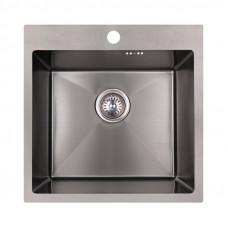 Кухонная мойка Imperial Handmade D5050BL 2.7/1.0 мм (IMPD5050BLPVDH12)