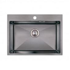 Кухонная мойка Imperial Handmade D5843BL 2.7/1.0 мм (IMPD5843BLPVDH12)