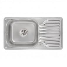Кухонная мойка Lidz 7642 Micro Decor 0,8 мм (LIDZ764208MICDEC)
