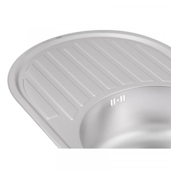 Кухонная мойка Qtap 7750 Micro Decor 0,8 мм (QT7750MICDEC08)