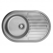 Кухонная мойка ULA 7108 U Micro Decor (ULA7108DEC08)