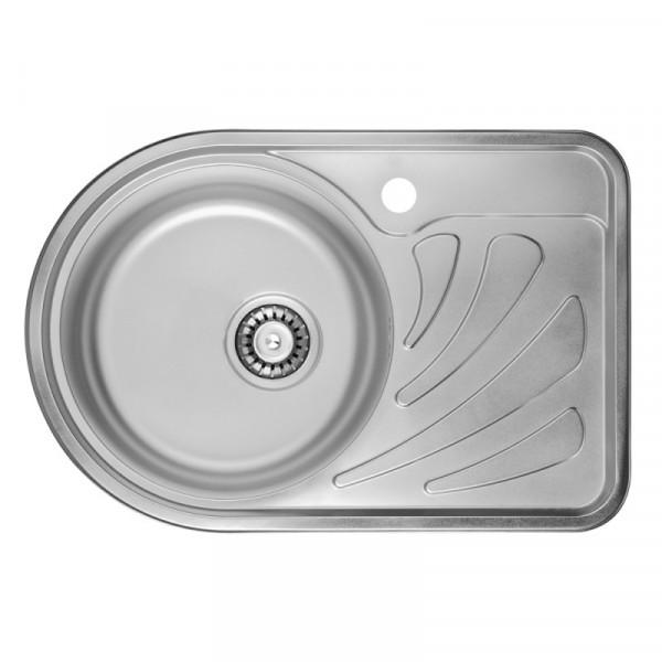Кухонная мойка ULA 7111 L Micro Decor (ULA7111DEC08L)