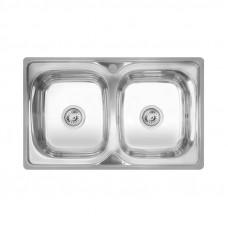 Кухонная мойка двойная Imperial 7948 Decor (IMP7948DEC)