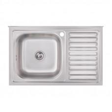 Кухонная мойка Imperial 5080-L Satin (IMP5080LSAT)