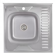 Кухонная мойка Imperial 6060-L Decor (IMP6060LDEC)