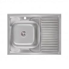 Кухонная мойка Imperial 6080-L Decor (IMP6080L06DEC)