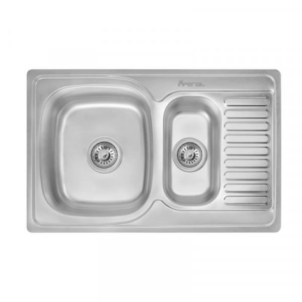Кухонная мойка Imperial 7850 Satin с доп чашей (IMP7850SATD)