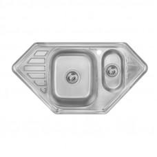 Кухонная мойка Imperial 9550-С Decor с доп чашей (IMP9550СDECD)