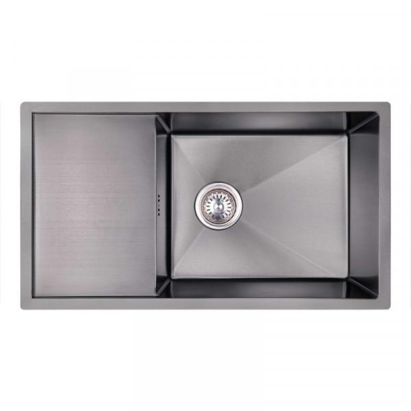 Кухонная мойка Imperial D7844BL PVD black Handmade 3.0/1.2 mm