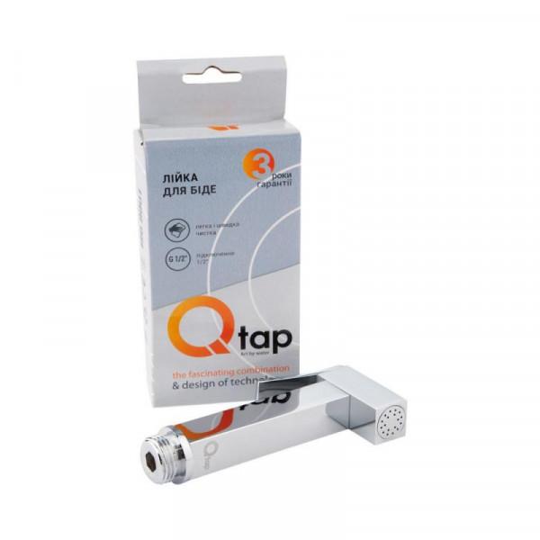 Лейка для гигиенического душа Qtap B120 CRM