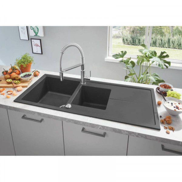Мойка гранитная Grohe Sink K400 31643AP0