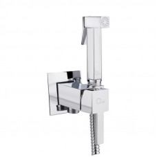 Набор для гигиенического душа Qtap Inspai-Varius V00440201 CRM встроенного монтажа