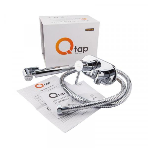 Набор для гигиенического душа Qtap Inspai-Varius V00440501 CRM встроенного монтажа