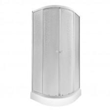 Набор Q-tap душевая кабина Presto WHI1099AP5 Pear + поддон Uniarc 309915