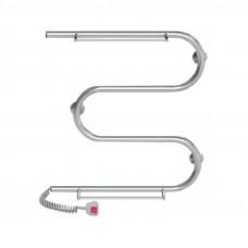 Полотенцесушитель электрический Lidz Snake shelf (CRM) 500x500 LE с полкой