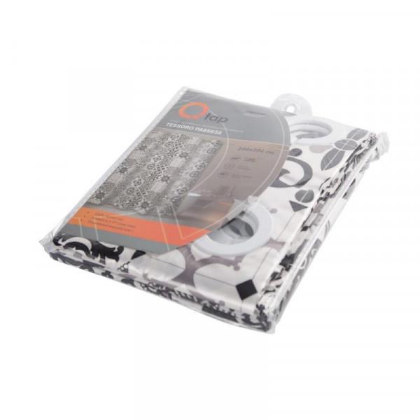 Шторка для ванной Qtap Tessoro PA85655 200*200