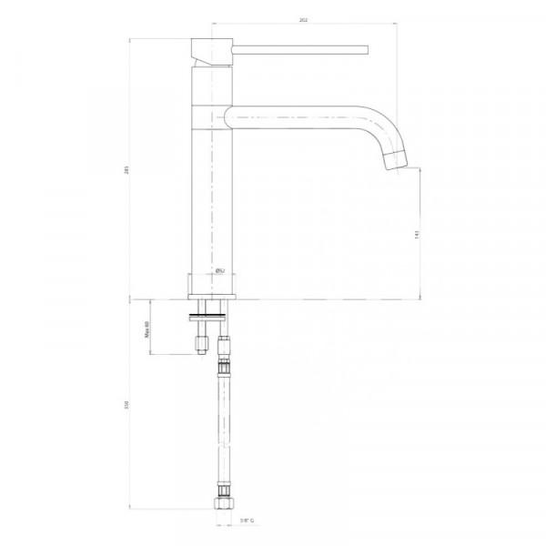 Смеситель для кухни Bianchi Style LVMSTY2000#ACRM